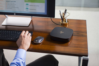 HP Elite Slice is a stylish modular PC that is far from beige, while Pavillon Wave PC looks like a speaker