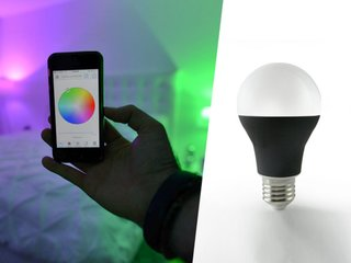 Illuminate your room with over 16 million colours