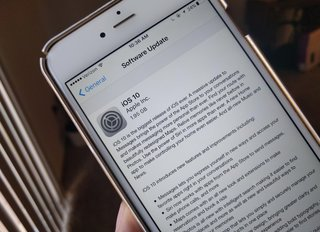 Apple iOS 10 update now available… for beta users