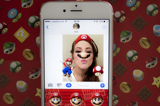 How to add Mario stickers to your photos in iOS 10 Messages
