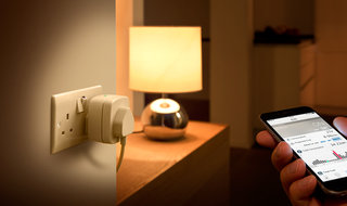 Eve Energy lets you control any mains-powered device by talking to Siri