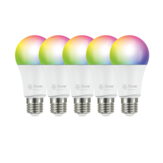 hive takes on philips hue with colour changing light bulbs. Black Bedroom Furniture Sets. Home Design Ideas