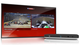 Sky Q adds split screen viewing to make football and F1 even more thrilling