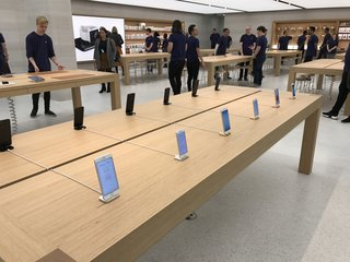 an amazing look inside the new apple regent street store trees marble and staff galore image 5