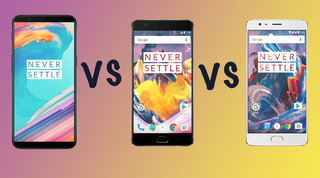 OnePlus 5T vs OnePlus 3T vs OnePlus 3: What's the difference?