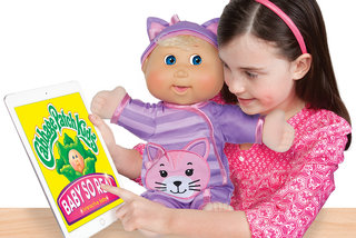 Cabbage Patch Kids now have LCD eyes and an app, of course they do