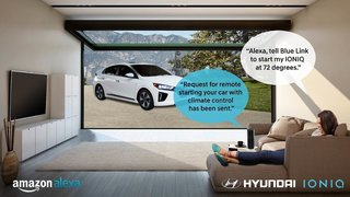 You can now unlock your Hyundai and get it warmed up using Amazon Alexa
