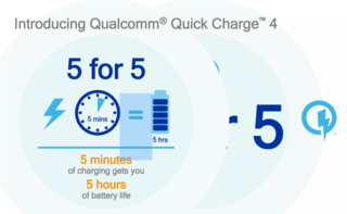 Qualcomm Quick Charge 4 coming 2017: 5-minutes charge for 5-hours battery