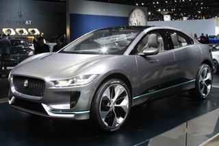 Jaguar I-Pace preview: More titillating than a Tesla?