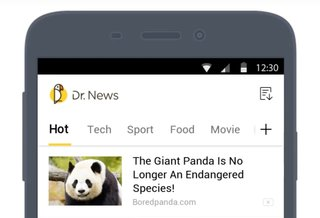 Dr News: The one news app to replace them all?