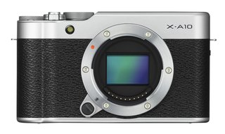 Fujifilm's new X-A10 is a compact selfie-shooter