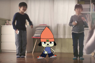 PaRappa the Rapper coming to a smartphone near you, time to jump, kick...