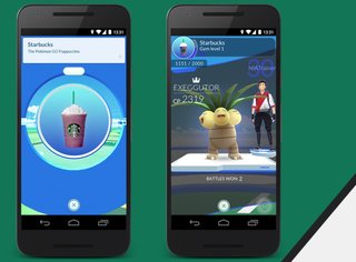 pokemon go now you can get starbucks and still catch em all image 2