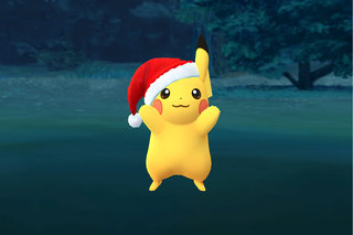 pocket lint pokemon go how to catch santa hat pikachu for christmas - Christmas Pikachu