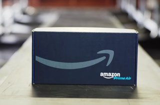 How does Amazon Prime Air work and where is drone delivery available?