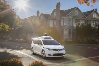 This is what Google's new self-driving Chrysler minivans look like
