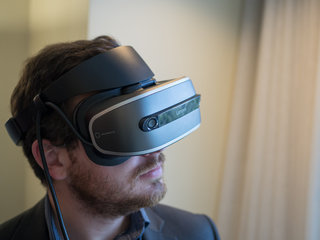 Lenovo's Windows VR headset will do affordable room-scale virtual reality