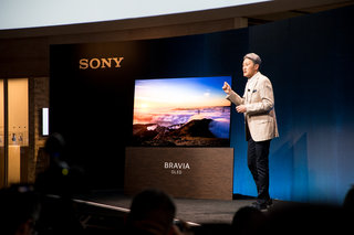 Sony's amazing OLED A1E series TV is also a speaker, the screen vibrates