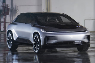 faraday future s first production car ff 91 hits the road in 2018 image 5