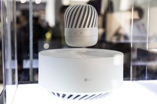 LG PJ9 levitating speaker preview: The Bluetooth speaker that hovers