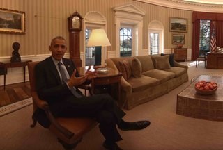 Take a tour with President Obama through the White House in VR