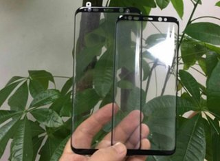 These leaked Samsung Galaxy S8 front panels hint at phones' design