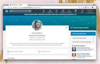 LinkedIn has an all-new look for the first time in years