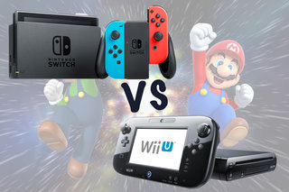 nintendo switch vs wii u what s the difference - fortnite wii!    u prix