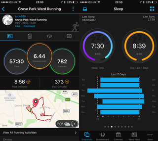 garmin forerunner 35 screenshots image 2