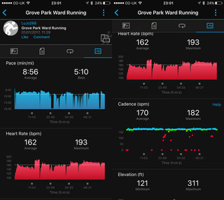 garmin forerunner 35 screenshots image 3