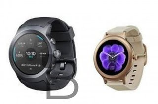 Google's LG-made Android Wear 2.0 watches revealed in (slightly blurry) pictures