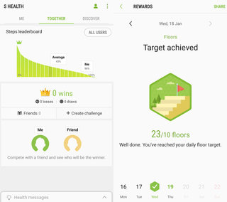 S Health review: Is Samsung's fitness app in the best shape? -