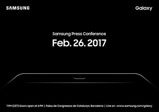 Samsung sends out invite for product launch on 26 February, Galaxy Tab S3 expected