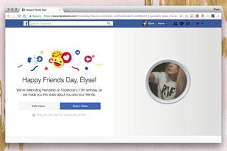 what is facebook friends day and how do those cheesy videos work  image 2