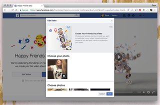 what is facebook friends day and how do those cheesy videos work  image 3