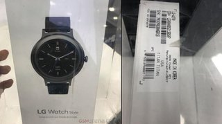 LG Watch Style design confirmed in leaked photo, Watch Sport to get quad-core processor
