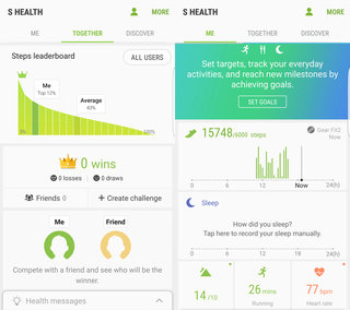 samsung gear fit 2 screenshots image 1