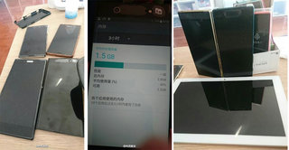 These leaked images claim to be of the Sony Xperia X2