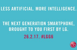 LG G6 teaser suggests phone may offer Google Assistant and Alexa