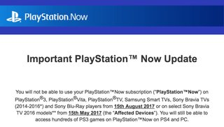 playstation now to be discontinued on ps3 and many more devices image 2