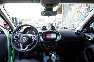 smart electric drive 2017 first drive interior image 2