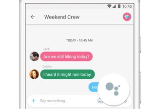 google just made assistant a much more prominent feature in allo image 2