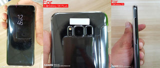 incredible samsung galaxy s8 pic leak show huge screen and dual pixel camera image 2