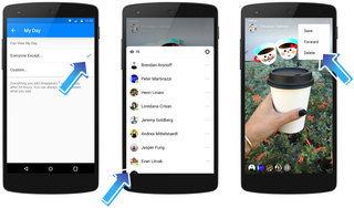 what is facebook messenger day and does it work like snapchat  image 2