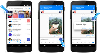 what is facebook messenger day and does it work like snapchat  image 3