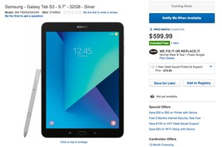 how much does samsung s galaxy tab s3 cost best buy reveals all image 2