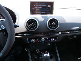 audi rs3 saloon interior image 3