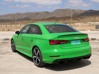 audi rs3 saloon review image 5
