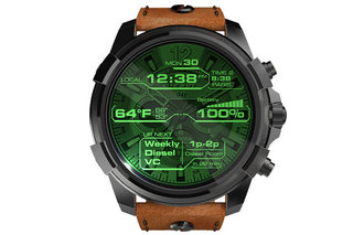 Diesel enters smartwatch market with a bang, with Diesel On oversized Android Wear 2.0 device