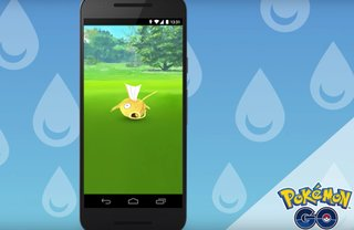 Pokemon Go is giving players a chance to catch rare shiny Magikarp